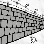 貝克大叔畫漫畫:牆(春上村樹名言)