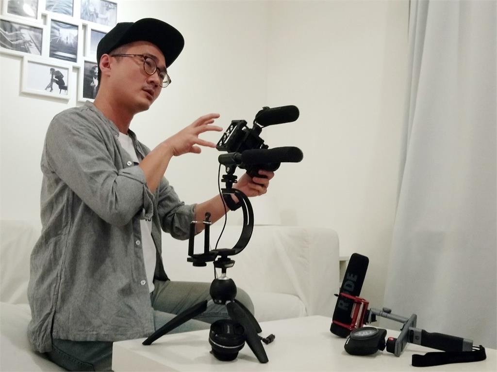 外加輔助器材,手機也能拍出電商需要的各類影片